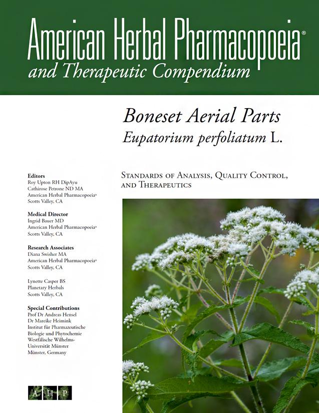Boneset Aerial Parts